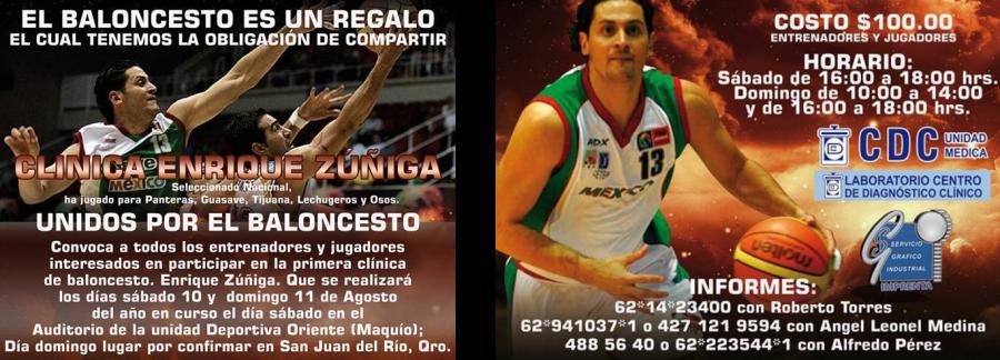 Clinica Baloncesto Enrique
